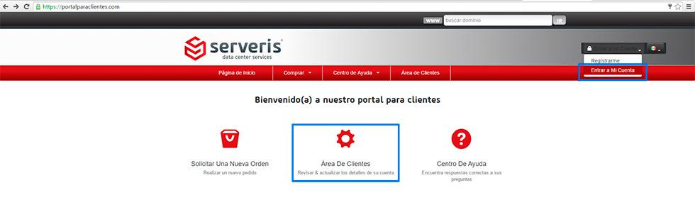 Agregar dominio servidores DNS de Serveris