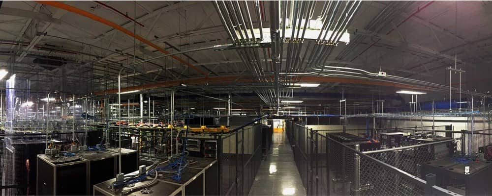 Serveris Interior Data Center